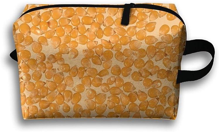 ztrb microondas palomitas portátil maquillaje cremallera Estuche Maquillaje bolsa de funda de transporte cepillo organizador Toiletry para colgar bolsa de almacenamiento Kit de costura bolsa de medicina: Amazon.es: Hogar
