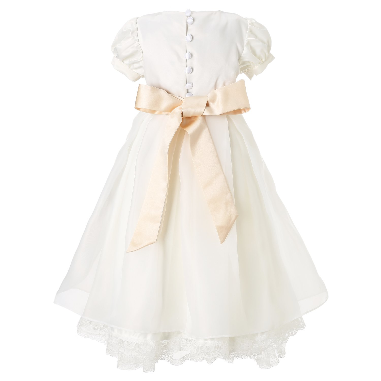 Hanakimi A-line//Princess Juliet Ankle-Length Communion Dress JMK1627