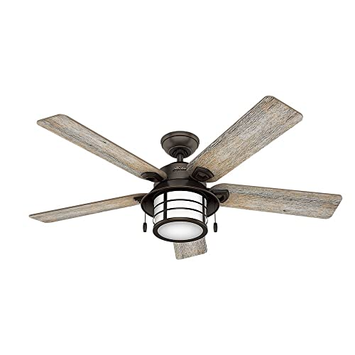 Rustic Ceiling Fans With Lights Amazon Com