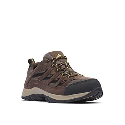 Columbia Men's Crestwood Waterproof Hiking Boot, Breathable, High-Traction Grip | Hiking Shoes