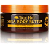 Tree Hut 24 Hour Intense Hydrating Shea Body Butter Tropical Mango, 7oz, Hydrating Moisturizer with Pure Shea Butter for Nour