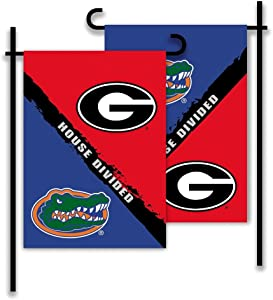 NCAA Georgia-Florida 2-Sided Garden Flag-Rivalry House Divided