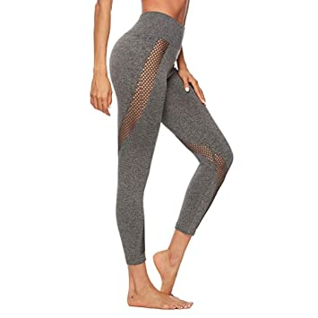 Ruikey Pantalones Deportivos Mujer Fitness Mallas Deportivas ...