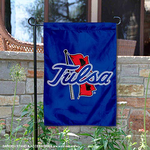 (College Flags and Banners Co. Tulsa Hurricanes New Logo Garden Flag)