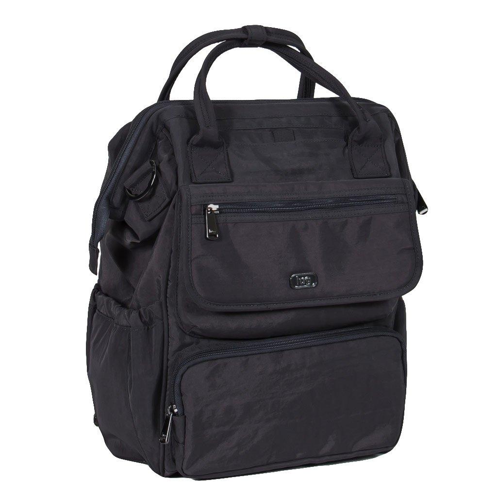 Lug Women's Via Tote Backpack, Multipurpose Luggage, Midnight Black
