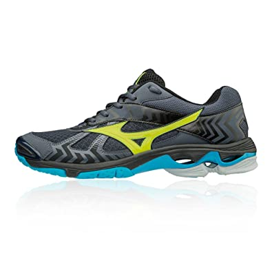 Mizuno Wave Bolt 7 Indoor Court Shoes - AW18 Black  Amazon.co.uk  Shoes    Bags 37b5aa3f1e