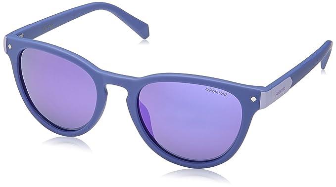 Unisex Pld 6035/S M9 Pjp Sunglasses, Bluette/Grey Grey, 56 Polaroid
