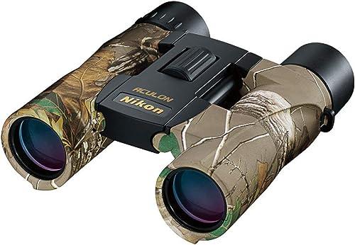 Nikon 8264 ACULON A30 10×25 Binocular,Xtra Green Camo Renewed
