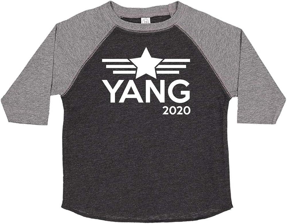 Mashed Clothing Yang 2020 Presidential Election 2020 Toddler//Kids Raglan T-Shirt