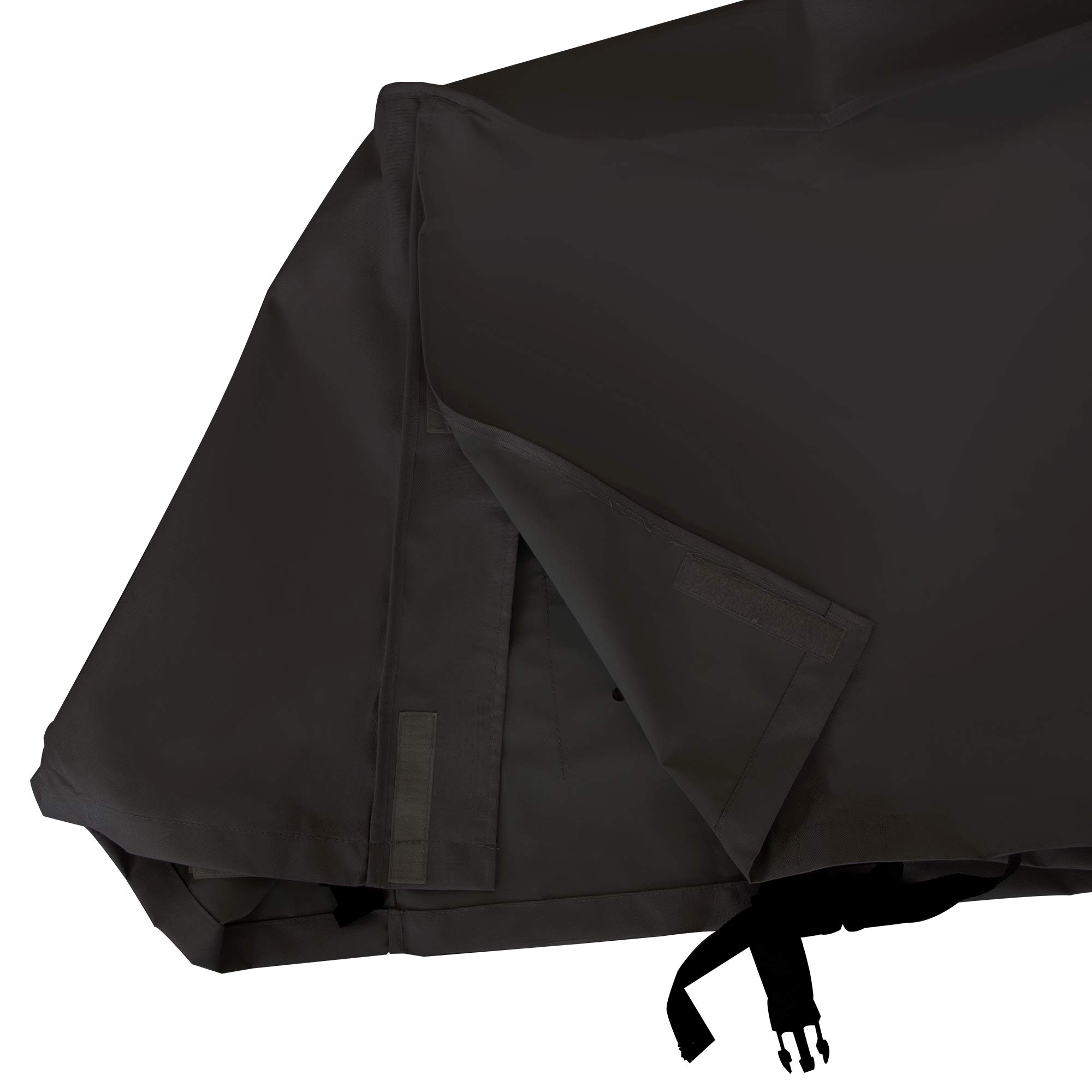 NEXTCOVER Universal Generator Cover-600D Canvas Heavy Duty Waterproof Fade Resistant,Fits Generator Up to 38'' Long and 28'' Wide and 30'' High,Black Color,N21G810C by NEXTCOVER (Image #4)