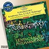 "Classical Music : Tchaikovsky: Symphonies Nos. 4, 5 & 6 ""Pathétique"""