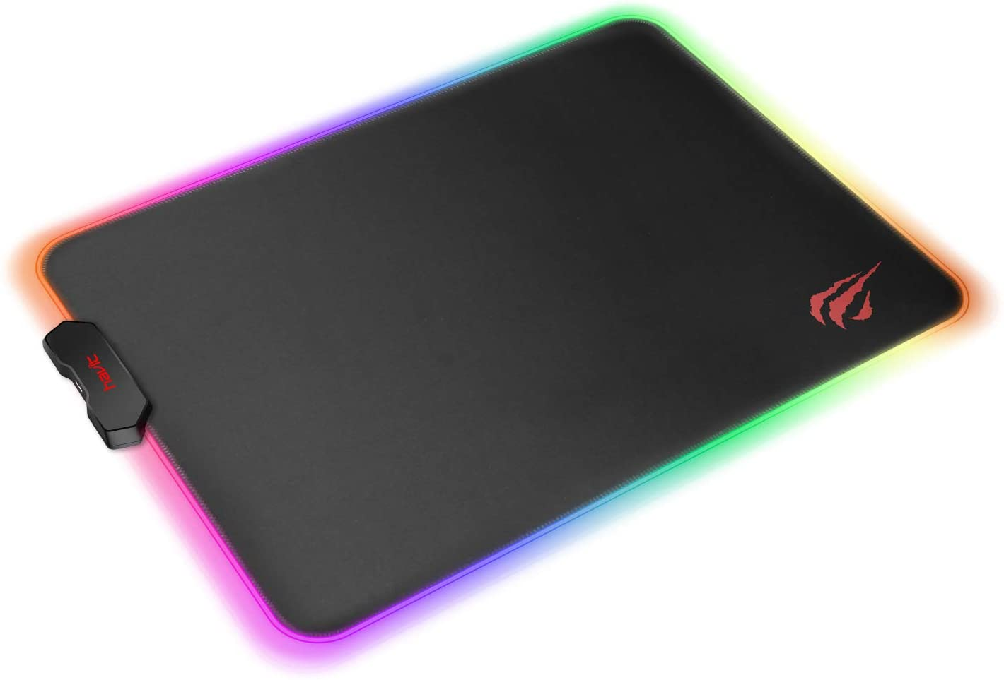 Havit RGB Gaming Mouse Pad Soft Non-Slip Rubber Base Mouse Mat for Laptop Computer PC Games (Small)