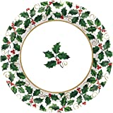 Amscan 40 Count Seasonal Christmas Holly Value