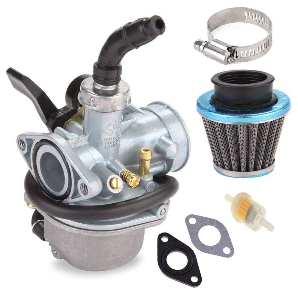 Pz19 Carburetor With 35mm Air Filter Fuel For Honda Ct90 Taotao 50cc 70cc 90cc 110cc 125cc Dirt Bike Atv Scooter Moped Automotive