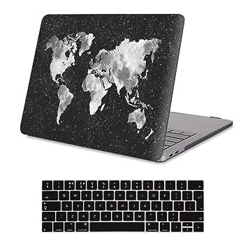iCasso - Carcasa rígida para MacBook Pro 13 (plástico Mate, Tacto Suave)