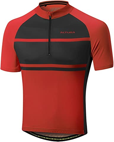 SIZE LARGE MEN/'S ALTURA TEAM CYCLING TOP LONG SLEEVED