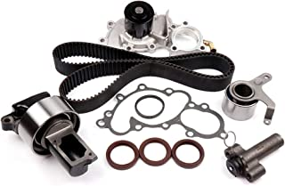 SCITOO for 1988-1992 Toyota 4RUNNER 3.0L 2958CC V6 SOHC Eng. Code 3VZE,Replaceable Timing Belt kit Including Timing Belt Water Pump with Gasket tensioner Bearing etc