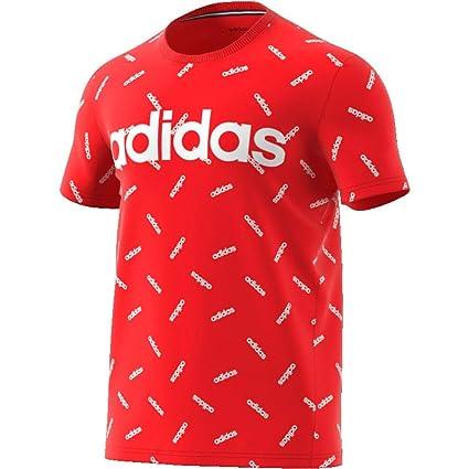 adidas Originals AOP T Shirt Herren rotweiß, XL (5658 EU)