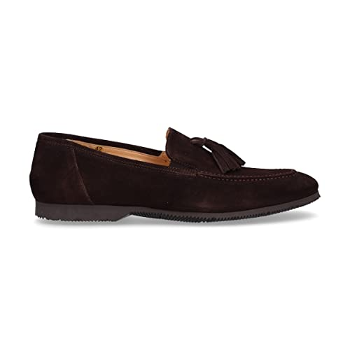 Roberto Botticelli - Mocasines de Otra Piel para Hombre Marrón marrón, Color Marrón, Talla 40 EU: Amazon.es: Zapatos y complementos
