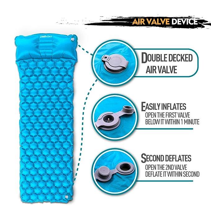 Amazon.com: ZOOOBELIVES - Colchón de dormir ultraligero con ...