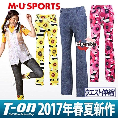MU SPORTS(エム ユースポーツ) 2017SS 2017SSモデル レディース パンツ ネイビー 44 701V1502   B01N6UTWCB