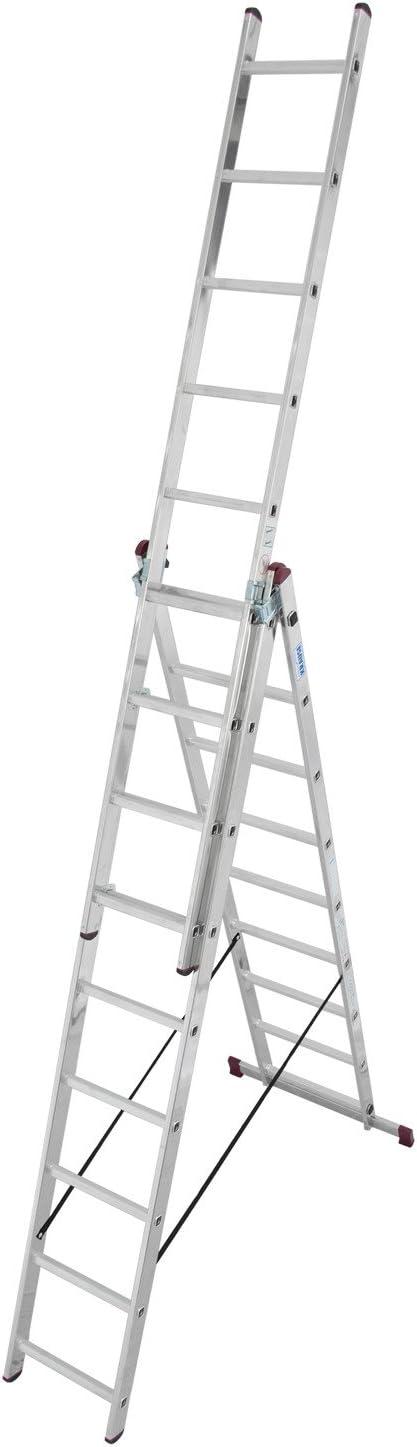 Leiter 3x9 Stufen