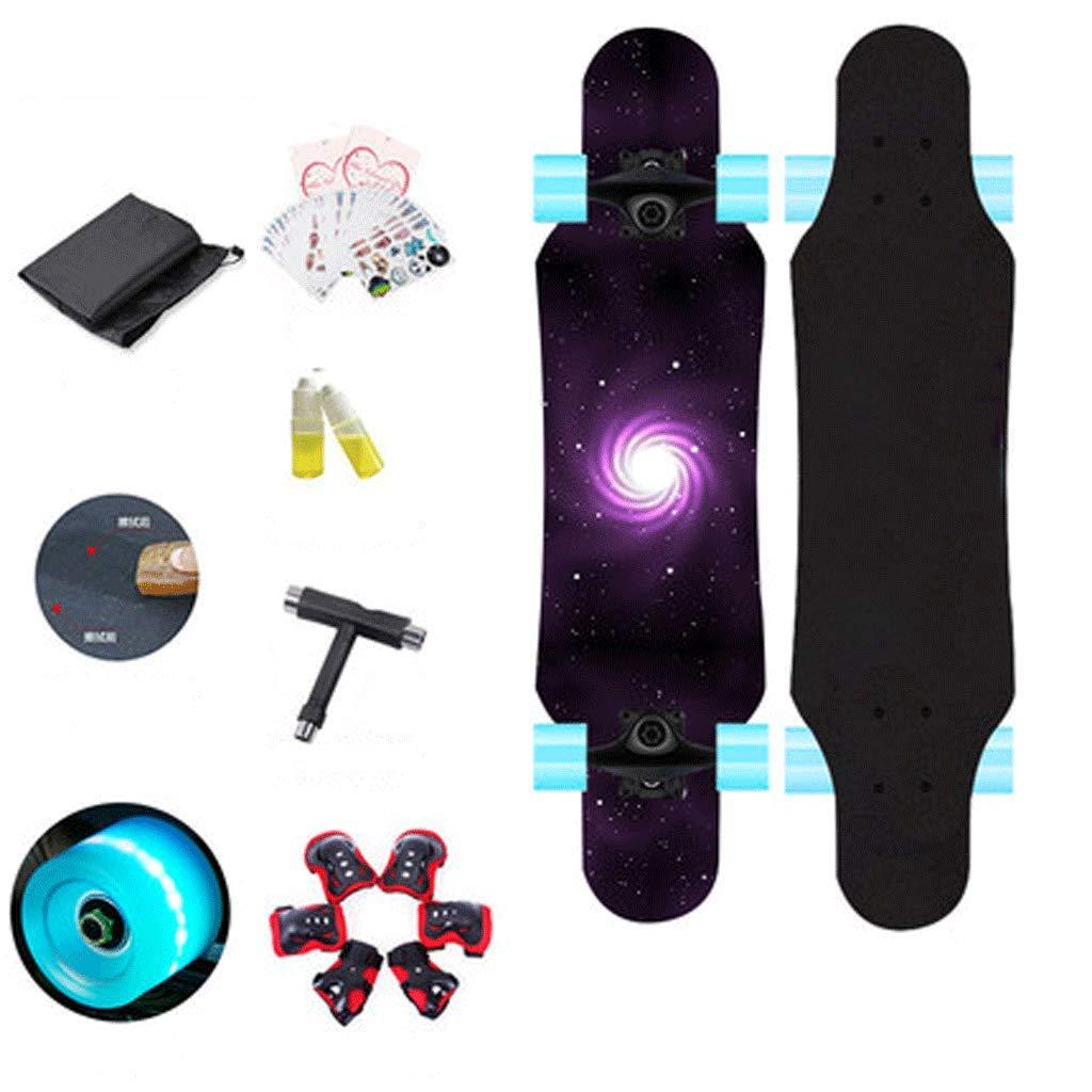 誠実 子供の初心者四輪スケートボード初心者の子供スケートボード十代の少年の男の子スケートボード (色 : Purple universe moon) moon) B07KZSPFL9 Purple : universe Purple universe, ショップ村上:89564e44 --- a0267596.xsph.ru