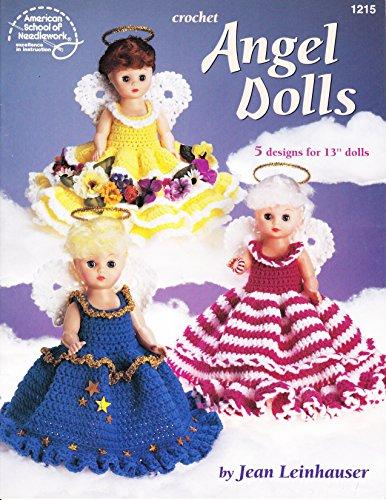- Crochet Angel Dolls American School of Needlework 1215
