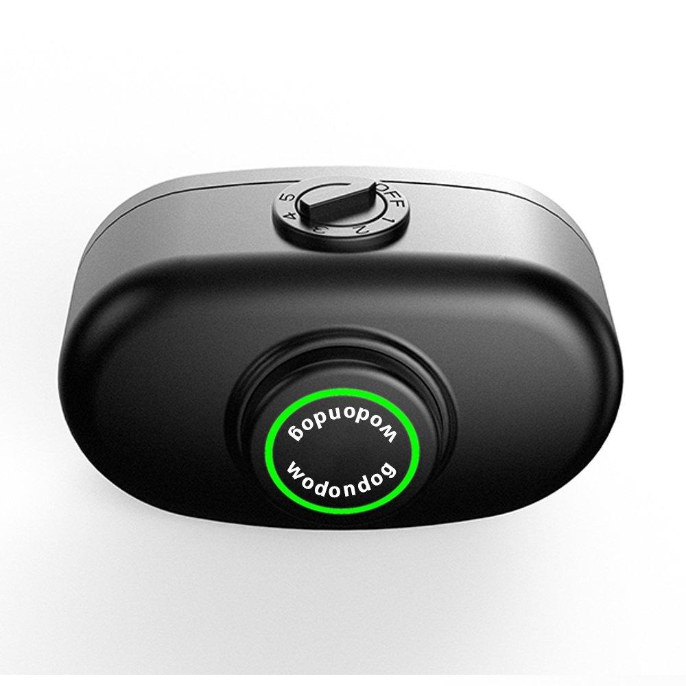 Wodondog Aucun Collier d\'écorce avec la Vibration de Beep Inoffensif Shock Rechargeable Dispositif Anti-aboiement de Contrôle pour Le Petit Chien Moyen Grand