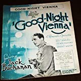 Good Night Vienna Jack Buchanan Jazz Swing Big Band Dance Sheet Music Guitar Piano Vocal