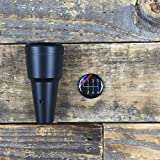 Condor Weighted Shorty Shift Knob with Black MTECH 6spd Cap