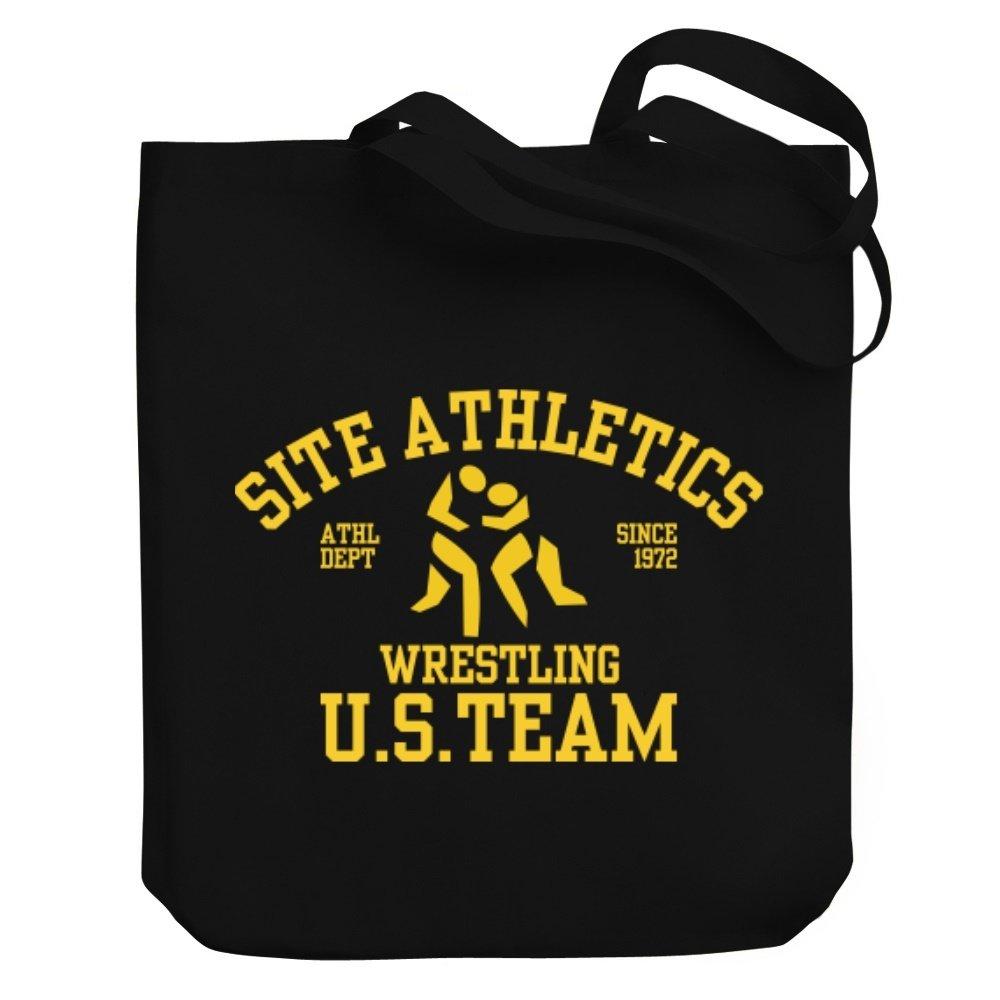 Teeburon US TEAM Wrestling Canvas Tote Bag by Teeburon