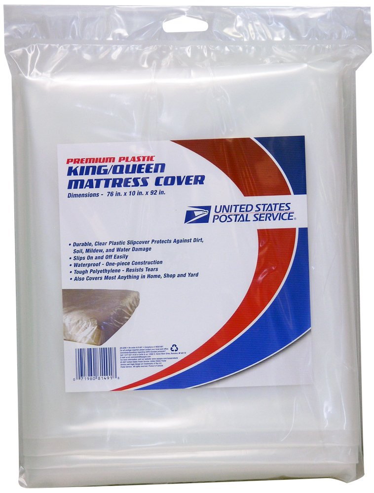 LePage's USPS King/Queen mattress cover for moving and storage, 76x10x92 inches (81491)