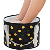 Premium Collapsible Wash Basin,New Style 2019 Folding Bucket for Camping Hiking Travelling With Packaging Bag (Black)