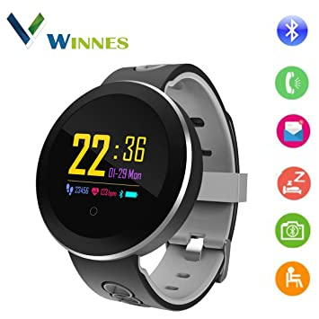 Touchscreen Farbe Winnes Smart Smartwatch Bluetooth Armband rdBoCexW