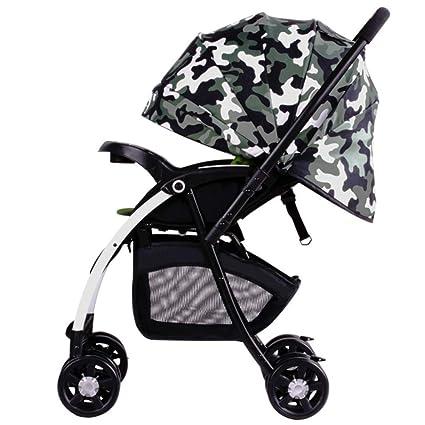 Amazon.es: HSDDA Carro de bebé Ligero El Cochecito de bebé ...