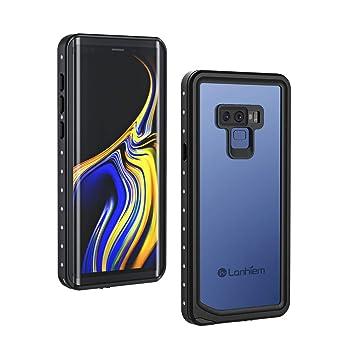 Lanhiem Funda Impermeable Samsung Galaxy Note 9, Carcasa Resistente Al Agua IP68 Certificado [Protección de 360 Grados], Carcasas para Galaxy Note 9 ...