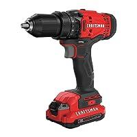 Craftsman CMCD700C1R V20 Cordless Drill/Driver Kit
