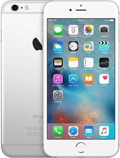 Apple iPhone 6s Plus 64GB Plata (Reacondicionado): Amazon.es ...
