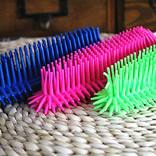 Water & Wood Pet Grooming Brush Comb Tool Color in Random 1 PCS well-wreapped