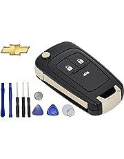 YL TRD 3 Botones Carcasa Llave Control Autos Chevrolet Cruze Sonic