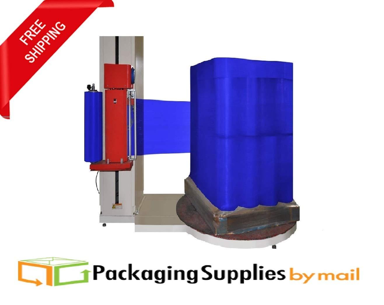 Shrink Machine Dark Blue Wrap 20 Inch x 5000 Feet x 90 Gauge Industrial Packing Stretch Film 40 Rolls