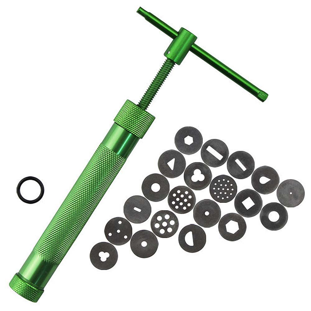 Rotating Polymer Clay Fimo Extruder Crowded Mud Machine for Pottery Arts Crafts Cake Fondant Sculpture Decorating Tools Set Gosear