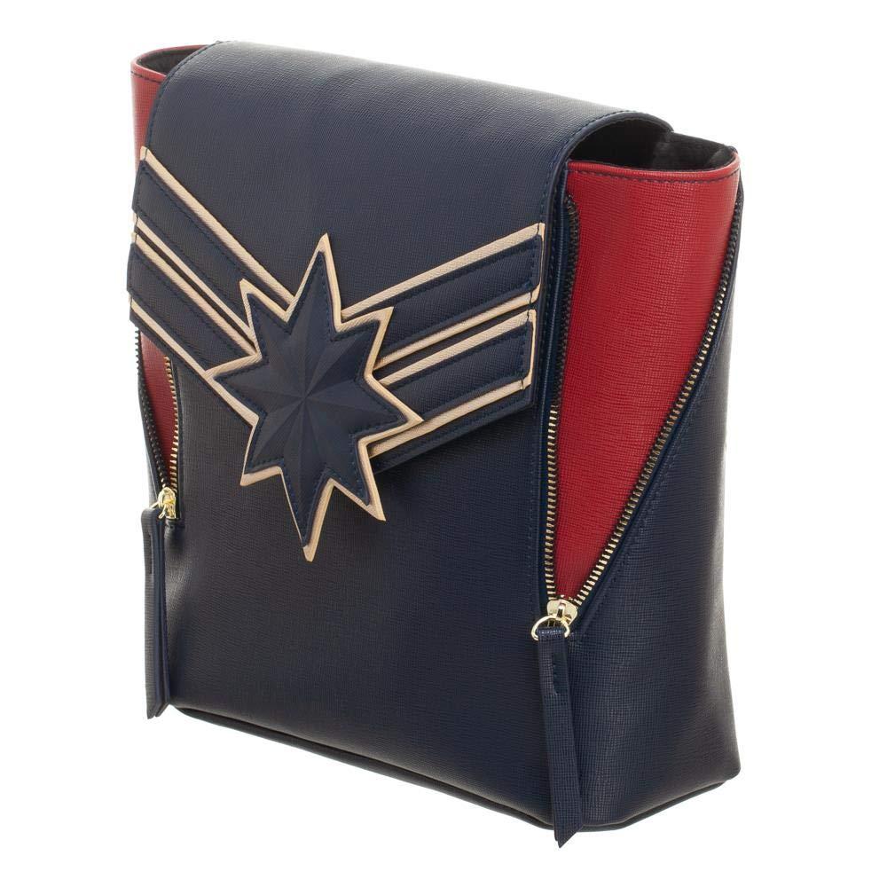 Marvel Captain Marvel Mini Backpack Purse Daypack by Bioworld (Image #1)