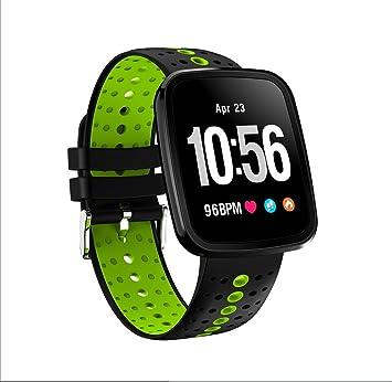 LJXAN Fitness Tracker HR, Seguimiento De La Actividad Reloj Smart ...
