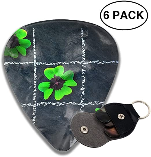 Knitting Sheep Guitar Pick Necklace Pendant Pet Card Keychain