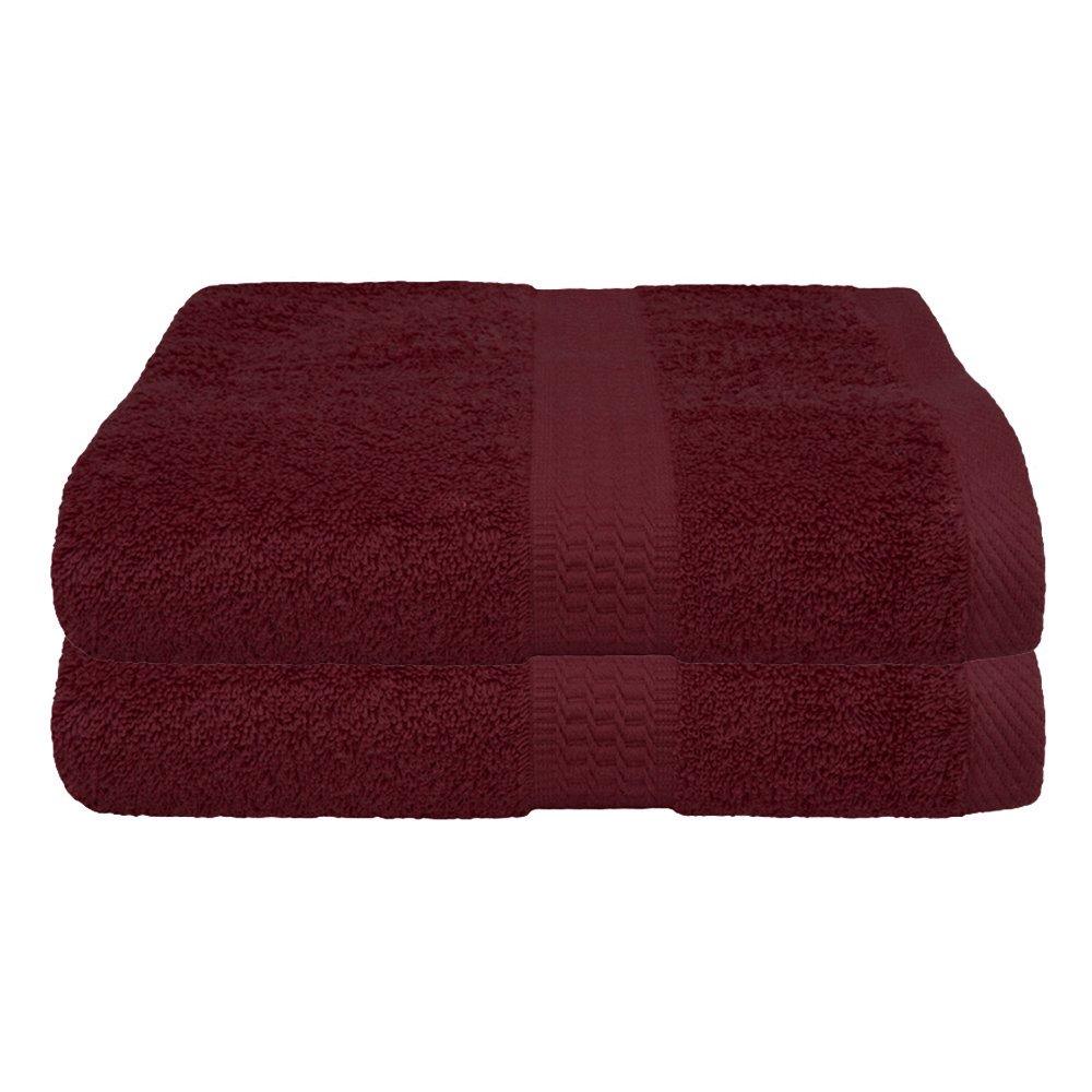 varios colores 70 x 140 cm 2 unidades 100/% algod/ón Set de 2 o 4 toallas de ducha Weiss