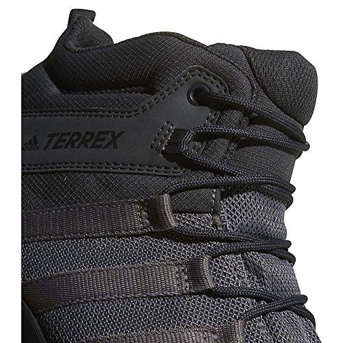 Scarponcini Da Trekking Adidas Outdoor Terrex Ax2r Mid Gtx - Uomo Nero, Nero, Grigio Vista