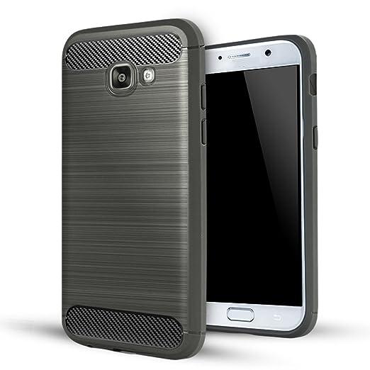 9 opinioni per Samsung Galaxy A5 2017 Cover,Lizimandu Creative 3D Schema UltraSlim TPU Silikon
