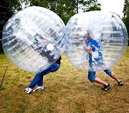 TTYY Bubble Ball Inflatable Fun Toys TPU Collision Ball Backyard Outdoor Sport & Games School...